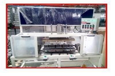 Header Insertion Machine Intercooler Core Assembly