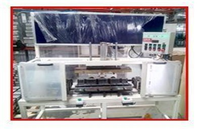 Header Insertion Machine Intercooler Core Assembly