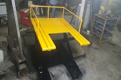 Pit Lifter Capacity 50 kg-500 kg And Hight 120MM