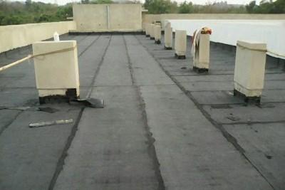 Terrace Waterproofing with APP Membrane