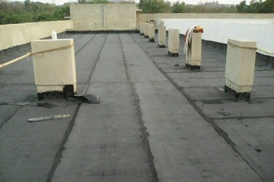 Terrace Waterproofing with APP Membrane
