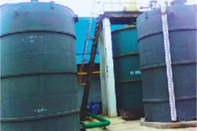 PP FRP STORAGE TANKS