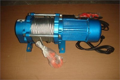Single Phase Winch