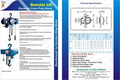 HERCULESLIFT CHAIN PULLEY BLOCK