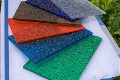 Polycarbonate Embossed Sheet