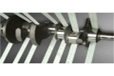 3M Super Finishing Belts for Crank Shaft super finishing