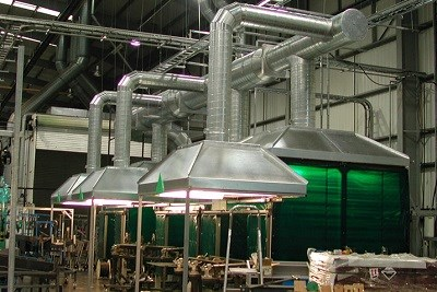 Fume Exhaust Ventilation Systems for Chemical Industry
