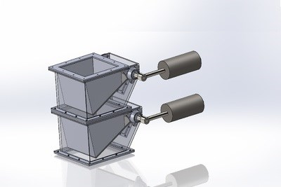 Gravity Operated Double Dump Flap Valves