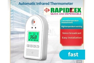 Automated Infrared Thermometer