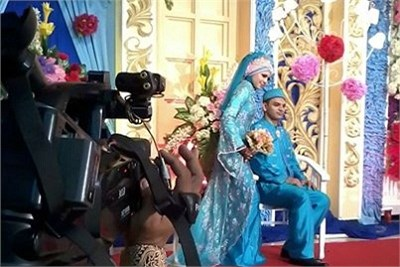 wedding video shooting service