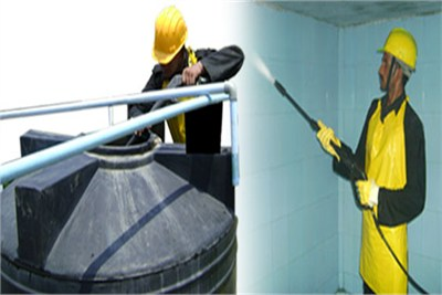 Water Tank Cleaning