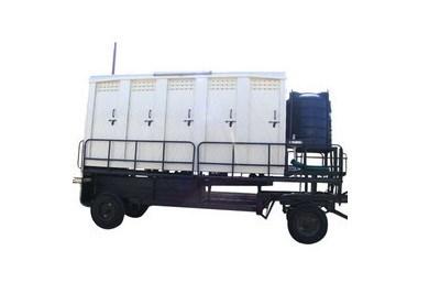 Mobile Toilet Van Trailer
