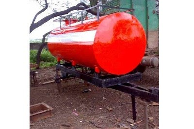 Water Tanker Mounted Trailer