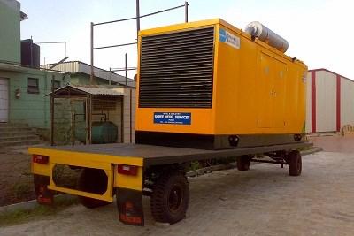 Generator Mounting Trolley