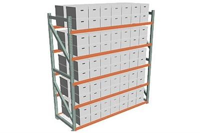 Box Fire Storage Racks