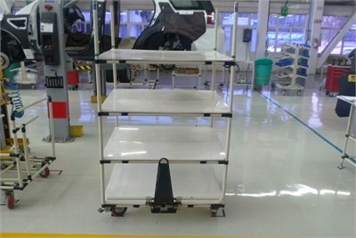 ABS Coated Pipe Trolley
