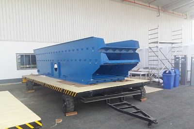 LOW BED TRAILER FOR HEAVY PART HANDLING