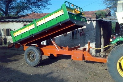Two Wheeler Tipping Trailer