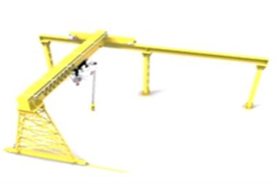 Semi Gantry EOT Cranes