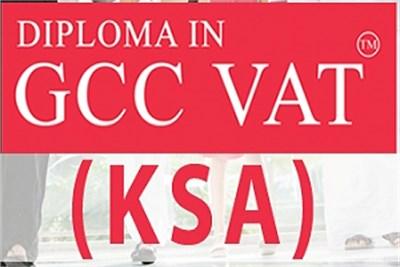 Diploma in GCC VAT (KSA)