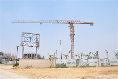 Crane for Construction Works