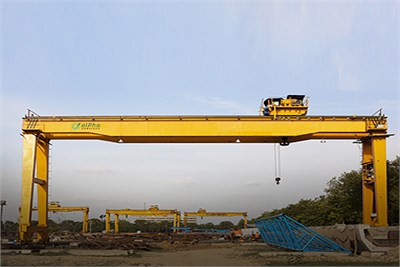 Alpha Services Cranes Dealer in Maharashtra