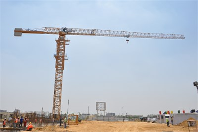 Trolley Mounted Mobile Tower Crane