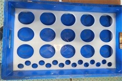 Hole Partition Crates