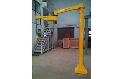Column Mounted Articulated Jib Crane