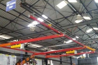 Overhead Light Crane