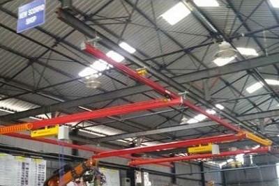 Overhead Light Crane